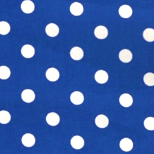 ドット(ブルー)